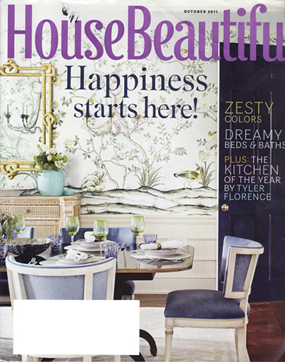 House Beautiful October 2011