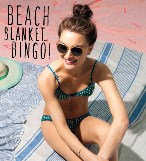 Bon Appetit chooses the Mykolas Linen Towel as one of the Best Beach Blankets!
