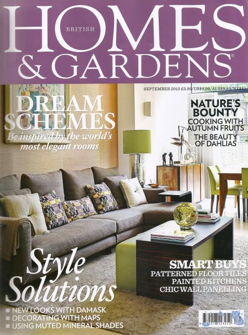 Homes & Gardens Features ANICHINI's Mykolas Linen Towel