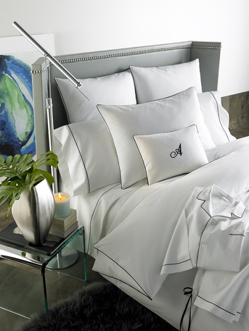 ANICHINI Palladio Hotel Percale Sheets