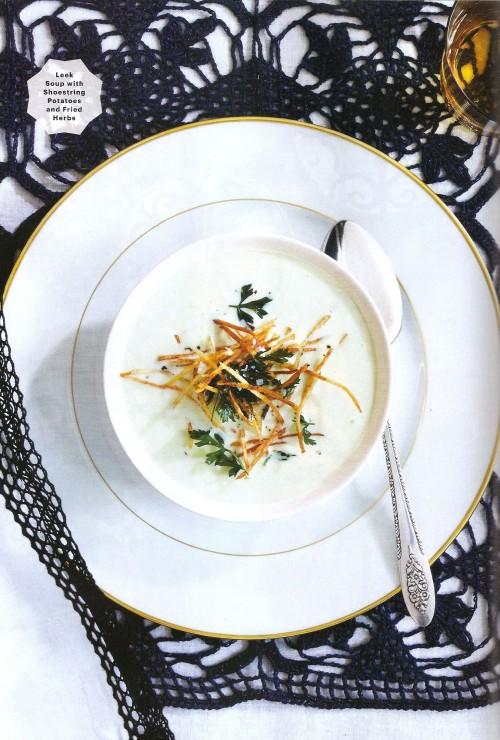 Bon Appétit Features ANICHINI's Hand Crocheted Table Linens