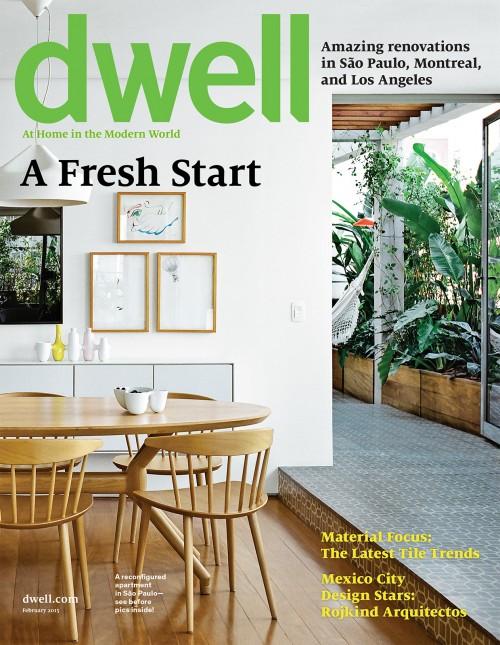 Dwell Magazine February 2015
