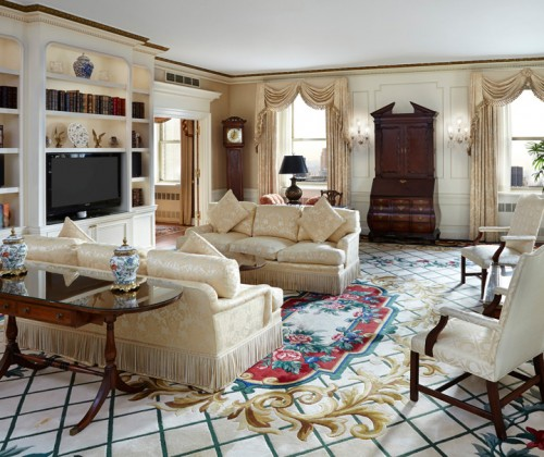 The Waldorf Astoria Presidential Suites Living Room