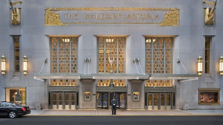 The Waldorf Astoria Presidential Suite