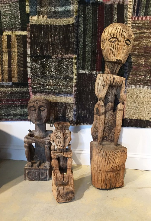 Anadeo statues at the Design Center and Gallery at ANICHINI in Quechee, Vermont