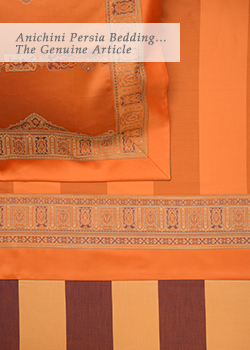 Anichini Persia Bedding... The Genuine Article